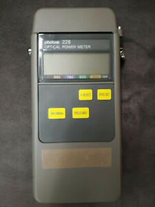 Optisches Leistungsmessgerät Haktronics photom 228 optical powermeter