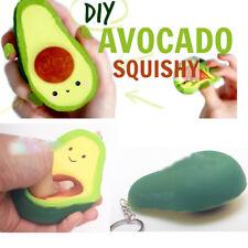 Kawaii Squishy Avocado Fruit Slow Rising Phone Straps Sweet Cream Soft Toys