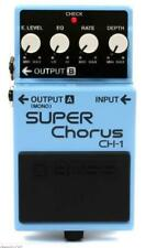 Boss CH-1 Stereo Super Chorus Electric Guitar Effect Effects Pedal