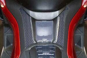 Adesivo in resina gel 3D protezione pedana compatibile Honda scooter Forza 750