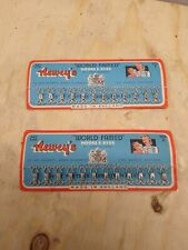 Neweys Vintage Hook & Eyes Haberdashery x2 Full Cards In Fab Condition Size 2