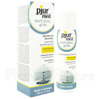 pjur med Natural Glide lubricant 100 ml Water based lube Personal FREE Shipping