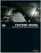 2008 Harley Davidson Fxstsse2 Service Manual Supplement : 99494-08
