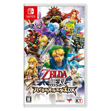 ZELDA MUSOU HYRULE ALL STARS DX Nintendo Switch 2018 Japanese Chinese Korean