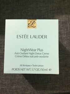 Estee Lauder NightWear Plus Anti-Oxidant Night Detox Creme 50ml - BNIB