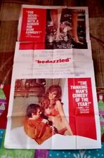 Bedazzled 3sh Original Movie Poster RAQUEL WELCH  Dudley Moore PETER COOK 1967