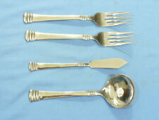 "Cambridge China ""Codie"" Pattern SS set (2) Dinner forks, Ladle, & Butter Knife"