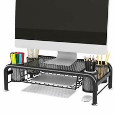 More details for acornfort monitor stands printer holder organiser riser  compartments containers