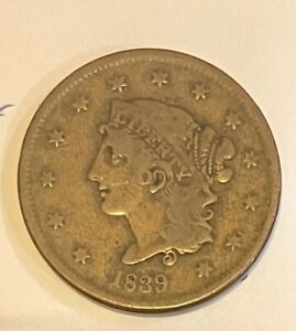 1839 United States Large Cent
