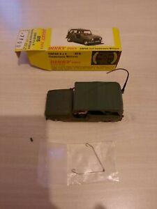 Dinky Toys Sinpar 4x4 Gendarmerie Militaire Avec Boite D Origine