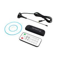 USB 2.0 DVB-T +DAB+FM Dongle Digital TV Tuner RTL2832U+R820T Stick Receiver Fine