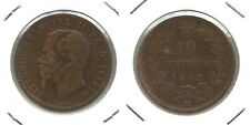 VITTORIO EMANUELE II - 10 Centesimi 1862 M (6)
