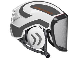 PROTOS INTEGRAL ARBORIST Safety Helmet w/ Earmuffs & Mesh Visor | AUTH. DEALER