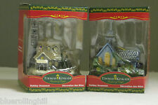 2 Christmas Tree Ornaments by Thomas Kinkade in Unopened Boxes