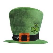 Top Of The Morning Green Irish Leprechaun Hat St Patricks Day Fancy Dress New