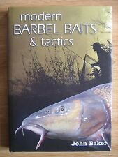 Signed MODERN BARBEL BAITS & TACTICS 97/250 Fishing book RARE HARDBACK carp and