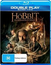 Hobbit - The Desolation of Smaug (Blu-ray, 2014, 2-Disc Set) VGC Pre-owned (D85)