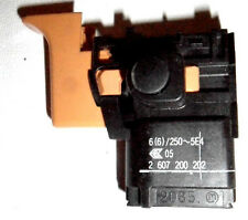 BOSCH - SWITCH for GSR6-20TE - p/n 2607200202