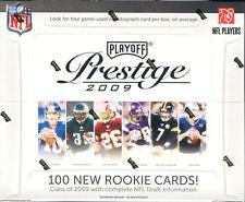 2009 PLAYOFF PRESTIGE FOOTBALL HOBBY BOX FACTORY SEALED NEW