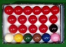 """Nuovo di Zecca Snooker Biliardo Palline Set completo di dimensione 2 1/16"""" (52.5mm) vendita offerta"""