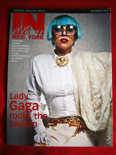 Lady Gaga IN New York December 2011 Magazine NEW