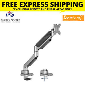 Brateck Single Monitor Flexi Arm Mount - Up to 27in