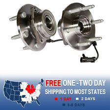 2 NEW Front Wheel Hub Bearing Assembly ESCALADE EXPRESS SUBURBAN SILVERADO 1500