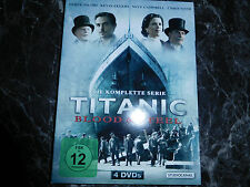 TITANIC BLOOD & STEEL KOMPLETTE SERIE  4 DVD   1016