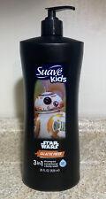 STAR WARS suave kids chewie 3 in 1 Shampoo Conditioner + Body Wash 28 oz