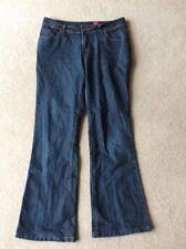 "Ladies Size 12 Dark Blue 30""Leg New Look Bootcut Jeans"