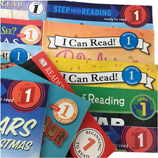 Level 1 Readers - Lot of 10 - Early Learning - Step Into Reading - I Can Read