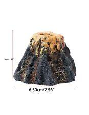 New listing Aquarium Volcano Shape & Air Bubble Stone Oxygen Pump Fish Tank Ornament Decor 1