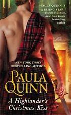 A Highlander's Christmas Kiss by Paula Quinn Mass Market Paperback Book (English