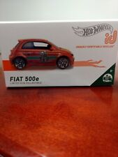 2019 Hot Wheels ID - Fiat 500e 🍕 Delivery *** BRAND NEW ***