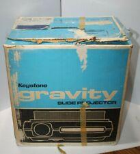 Vintage Keystone Gravity Slide Projector In original Box Working condition