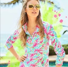 Lilly Pulitzer Pop Up Lobstah Roll Captain Popover NWT XS Holy Grail