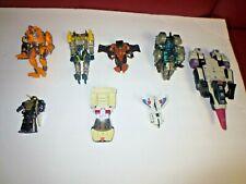 Hasbro/Takara Transformers Lot of 8 G1 and Transmetals for parts/repair SA-IS