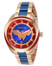 Invicta DC Comics Wonder Woman Ladies 38mm Limited Edition Rose Gold Watch 31729