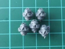 Space Marine Assault Squad Head x5