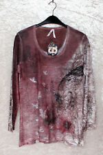 Body Needs Damen Shirt dusty rose Gr. 46