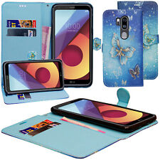 For LG G7 Case (ThinQ / One) - Leather Flip Wallet Cover With Credit Card Slots