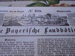 1840 Landbötin 104 / Aschaffenburg,Germania Monaco Università Kelheim Neuhausen