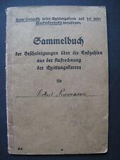 Collector´S Book Reichsversicherung Breslau Tschirne Czernica 1915
