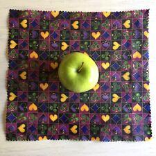 Handmade Reusable Beeswax Food Wraps - Small