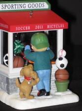 Hallmark Keepsake Ornament Christmas Window 2011 Sporting Goods 9th In Series