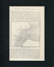 Quebec During The Siege French Indian War Original Engraving Book Photo Display