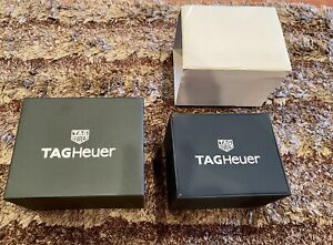 ORIGINAL TAG HEUER WATCH BOX NEW STYLE INNER & OUTER BOXES