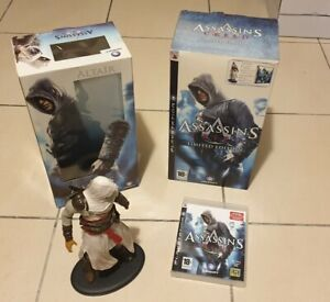 Assassin's Creed Limited Edition PS3 - Figurine Altair - Rare Collector