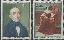 1978 MONACO N°1172-1173** PRINCES et PRINCESSES  Sc#1135-1136 MNH