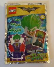 Lego Mini Figure  - The Batman Movie -The Joker Ltd Edition - New - Unopened